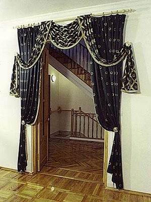 Шторы для дверной арки